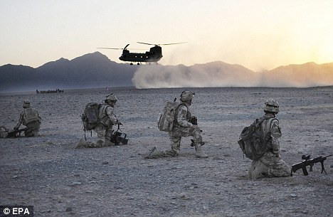 Deadly: Seven members from the same regiment were killed in a seven-month period in Afghanistan