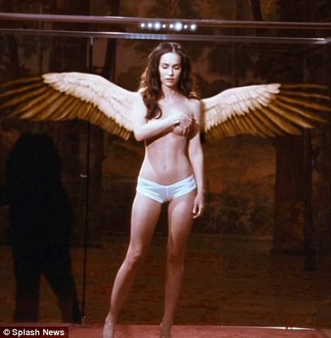 Risque Megan Fox Appears As A Topless Angel In Her Upcoming Film Passion Play