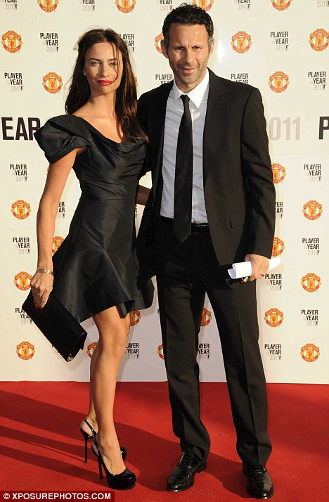 Ryan Giggs and wife Stacey Cooke are chic couple on Man United ...