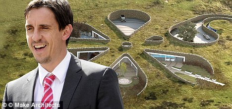 Go-ahead: Gary Neville has won a 17-month planning permission battle