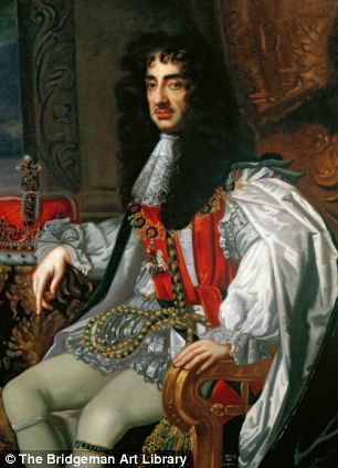 Portrait of King Charles II  c.1675
