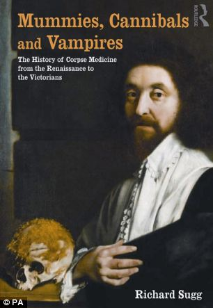 Dr Richard Sugg's book, which carries a picture of John Tradescant the younger (1608-1662), botanist and gardener