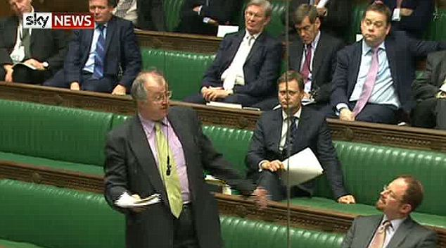 John Hemming names Ryan Giggs during a discussion on injunctions in the Houses of Commons
