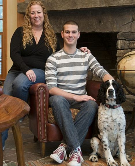 Jodi Picoult and son Kyle