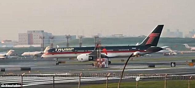 Donald Trump's new 757