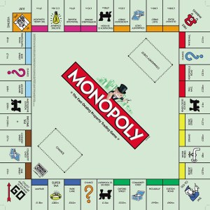 How the London Monopoly board would look in 2011: Do not
