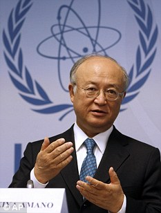 Director General of the International Atomic Energy Agency, IAEA, Yukiya Amano, is concerned by Iran's nuclear capabilities