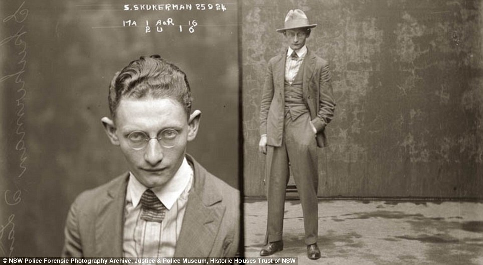 Dapper: Sydney Skukerman, alias Cecil Landan, 'obtained goods from warehousemen by falsely representing he was in business'