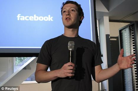Facebook founder Mark Zuckerberg, pictured in April, argued last year that privacy is no longer a 'social norm'