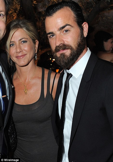 Together: Jen with Justin at the MTV Movie Awards after party on June 4