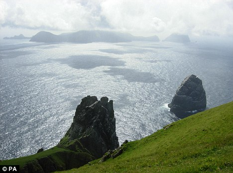 Rugged landscapes: Boreray was previously thought to have been too difficult an area for any settlements to flourish