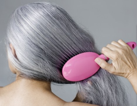 will grey hair be a thing of the past scientists discover protein that keeps colour in strands