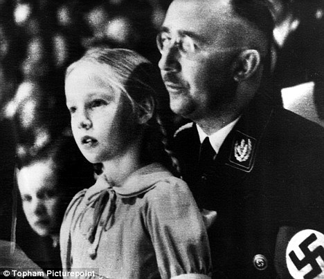 Himmler and Gudrun in the war years. He ran the Gestapo, the S.S. and the extermination programme, which murdered six million Jews