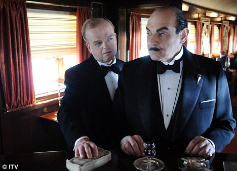 Surplus to requirements? The analytical instincts of fictional detectives such as Hercule Poirot (right, played by David Suchet) could become redundant if the new system proves effective