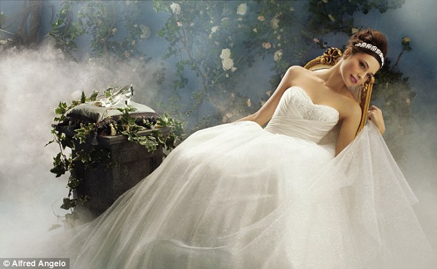 Disney And Alfred Angelo Launch Princess-inspired Wedding