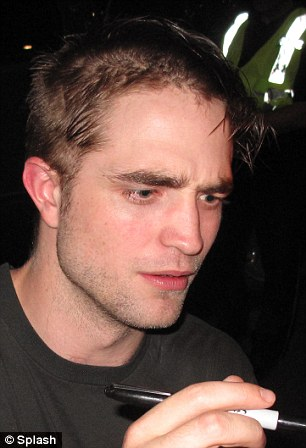 Robert Pattinson Left With Patchy Hair After Hacking Off