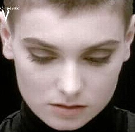 Youth: O'Connor's stunning voice was packaged with an ethereal beauty when she broke through into the charts