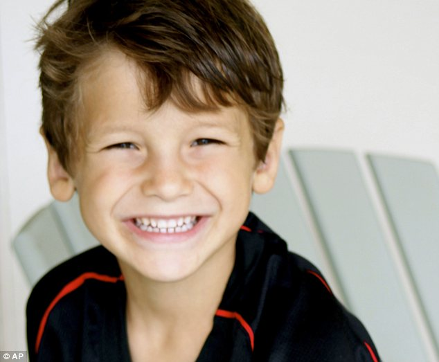 Tragedy: Six-year-old Max Shacknai died one week after he fell down the stairs of his millionaire father's mansion