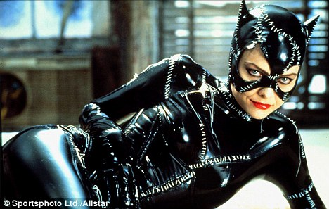 Plot: Michelle Pfeiffer as Catwoman in the 1992 film Batman Returns. Ms Honore wore a suit similar to this one