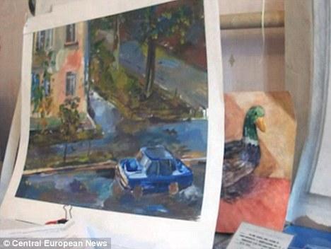 Taisia se despertó con un nuevo impulso creativo como su cerebro ajustado tras el accidente