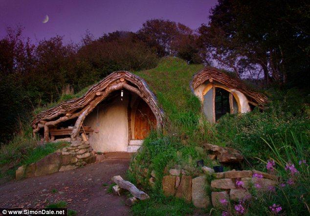 The Hobbit Flintstones Up And Halloween Themed Houses