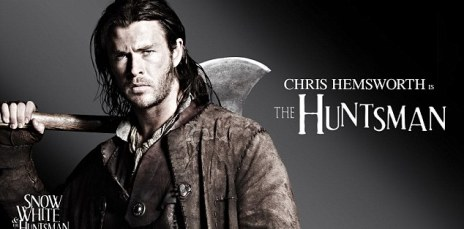 Another big role: Australian actor Chris Hemsworth will play the huntsman, after earlier appearing in Thor and Star Trek