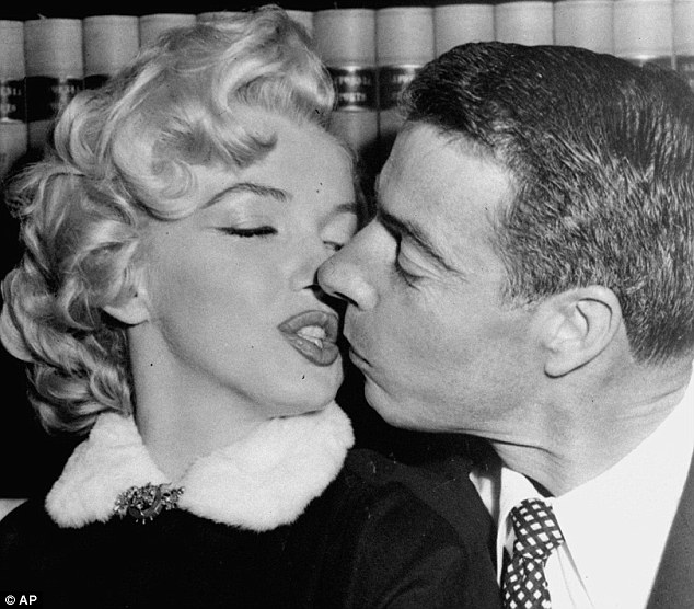 Baseball Kissed By Marilyn Monroe And Signed By Joe