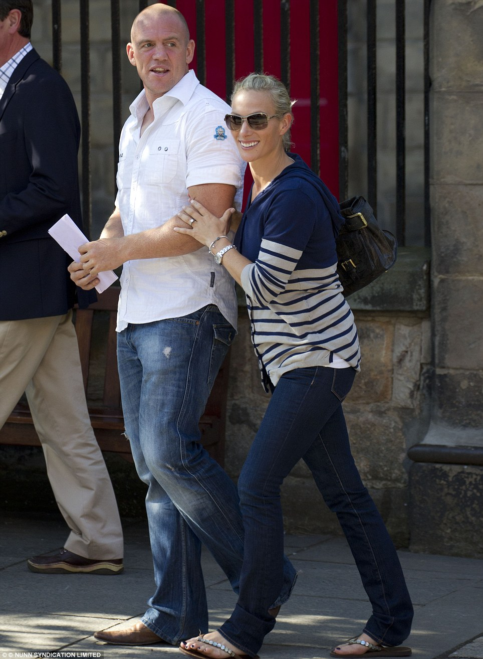 Zara Phillips Wedding To Mike Tindall Kate Middleton Joins Royal Yacht Britannia Party Daily