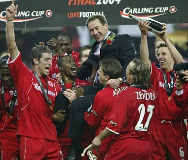 Just Rewards Gibson Celebrates After Boros Carling Cup Win Over Bolton