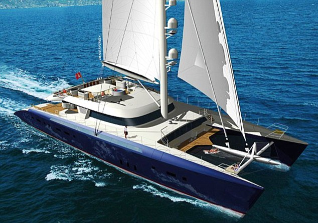 Worlds Largest Luxury Catamaran Unveiled And Its Yours