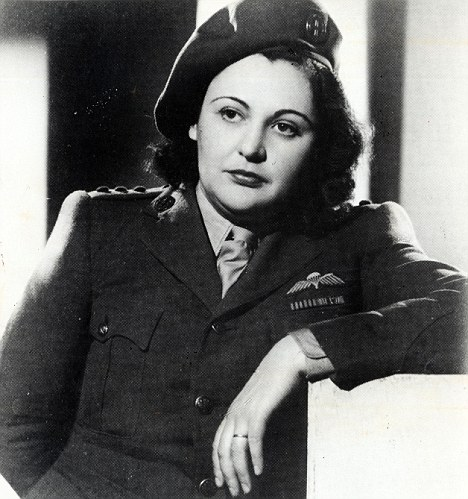 Glamorous: Nancy Wake was the most famous member of the French Underground movement and delayed the 2nd SS Panzer Division heading towards Normandy by 16 days