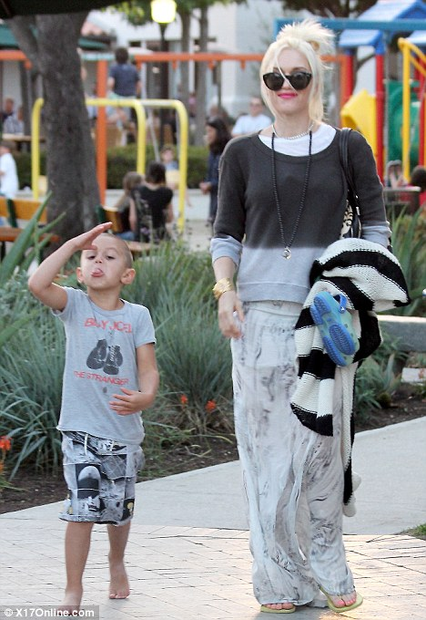 Gwen Stefanis Son Kingston Rossdale Swaps His Mohican For