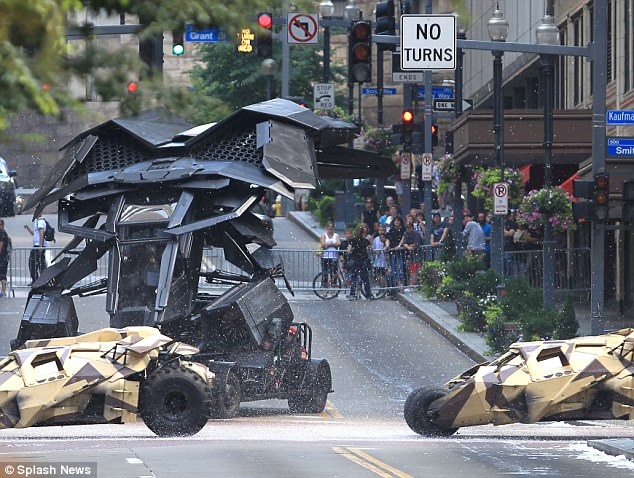 Dark Knight Rises Batwing Crashes During Filming The