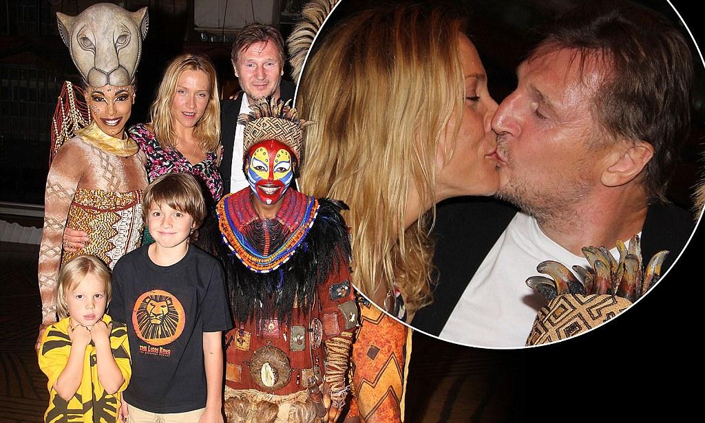 Liam Neeson Joins Girlfriend Freya St Johnston And Her