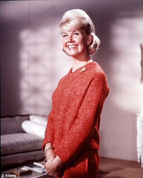 Americas' Sweetheart: Doris Day is famous for hits including Pillow Talk, Que Sera Sera and Move Over, Darling