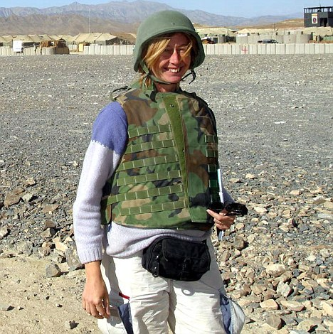 Image result for photo of Christina Lamb in afghanistan