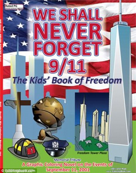 cover we shall never forget 9 11 kids colouring book sold out of its