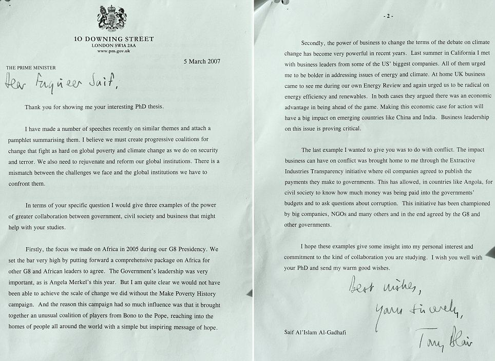 Devastating: The stash of documents were left in the British Ambassador's residence