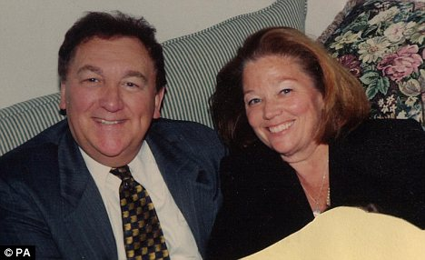 Happy: Susan Rescorla with husband Rick