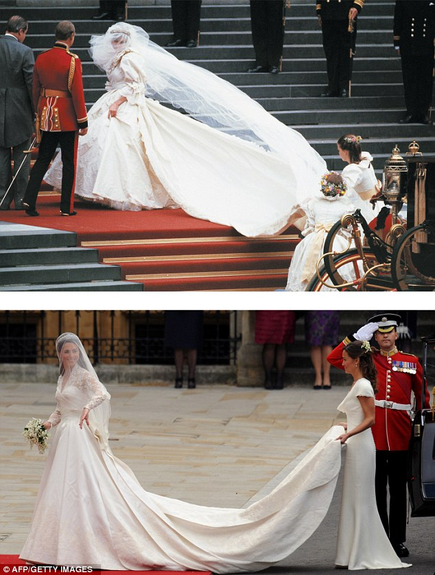 A Tale Of Two Dresses Kates Wedding Gown Raises 8m On