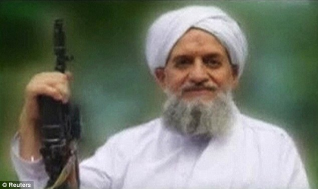 Rallying call: Ayman al-Zawahiri, the new leader of Al Qaeda, is seen in a still from a video timed to coincide with the 10th anniversary of the 9/11 terror attacks