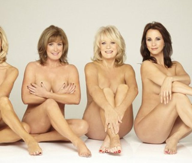 Enlarge The Naked Truth British Stars Bare All In Fight Against Tv Ageism