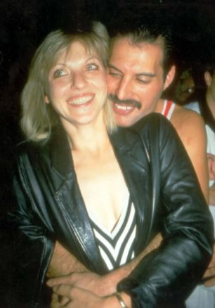 A kind of magic: Freddie Mercury with his former girlfriend and lifelong friend Mary Austin