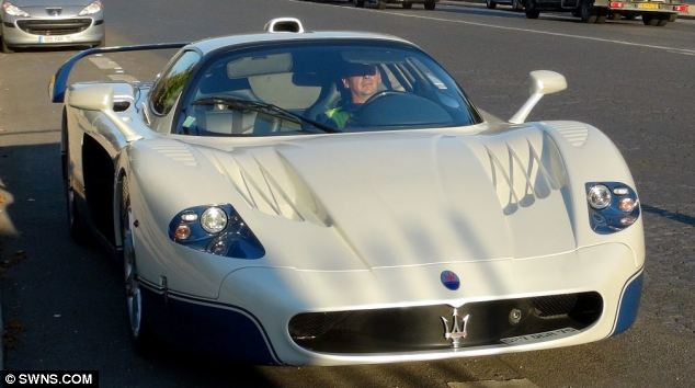 'Ill-gotten gains': This Maserati MC12, and the other supercars, were seized as part of an ongoing investigation into Teodoro Obiang Nguema, the president of Equatorial Guinea