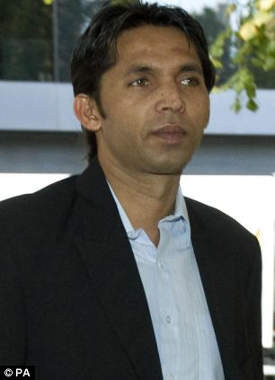 Mohammad Asif also appeared in court where it was said the case exposed the 'rampant corruption the goes on in the game