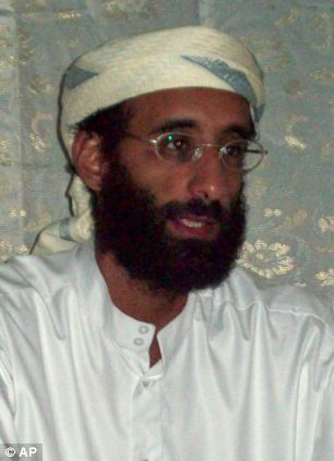 Powerful: Anwar al-Awlaki, a U.S.-born Yemeni cleric and recruiter for Al Qaida, was killed early this month by CIA drones