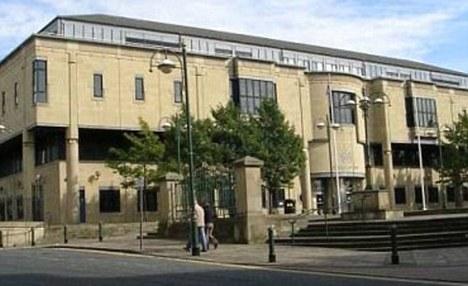 Guilty plea: Ellerton appeared ta Bradford Crown Court