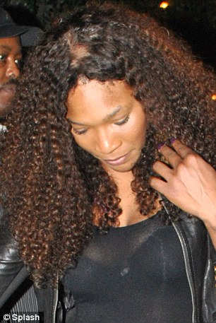 Condition? Serena may be suffering from 'traction alopecia' the name of the type of hair loss associated with hair braiding, weaving, and the wearing of hair extensions