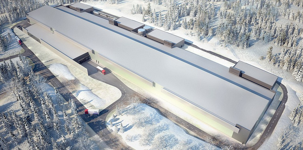 Facebook confirmed that it had picked the northern Swedish city of Lulea for the data centre partly because of the cold climate - crucial for keeping racks of high-performance computers cool