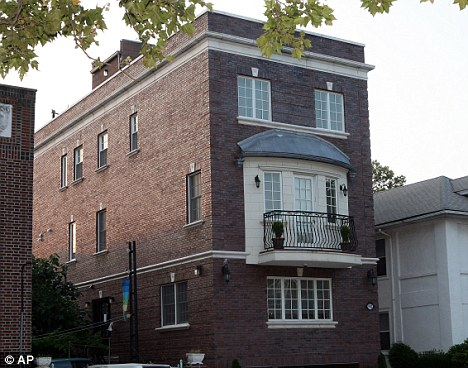 Evil plan: Rosenbaum's home in Brooklyn where the matchmaking was masterminded